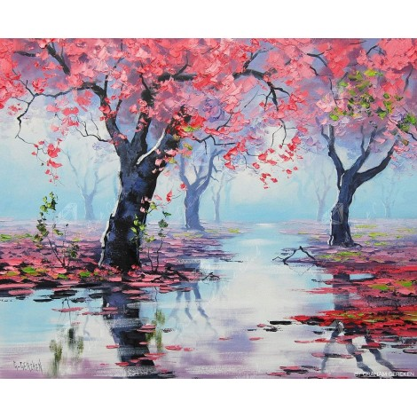 Pretty in Pink Diamond Painting Kit
