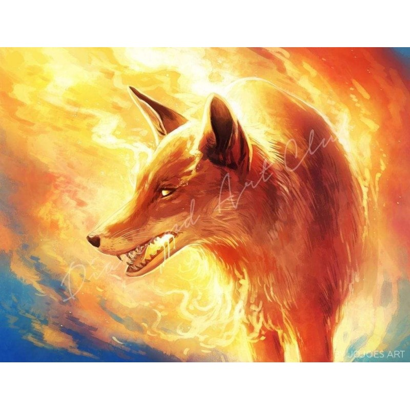 Fire Fox Diamond Pai...