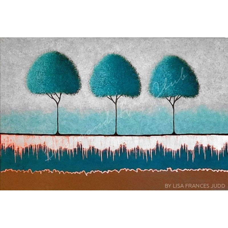 Teal Trees Diamond P...