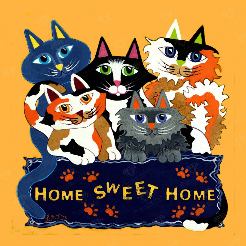Home Sweet Home Cats...