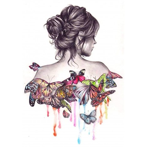 Butterfly Effect Diamond Painting Kit