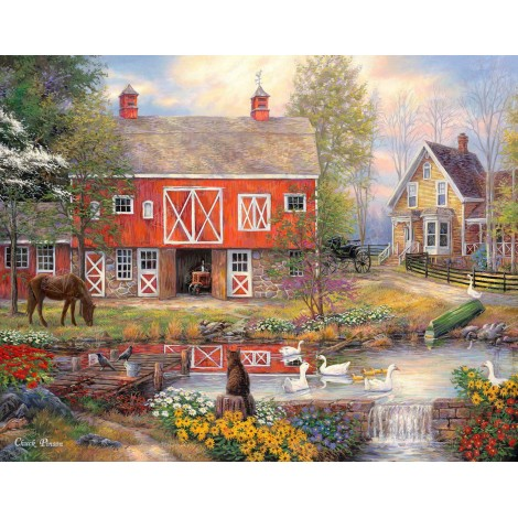 Reflections On Country Living Diamond Painting Kit