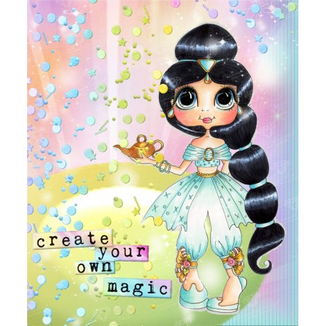 Create Your Own Magic Diamond Painting Kit
