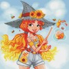 Izzy, The Beekeeper Witch (limited edition) Diamond Painting Kit