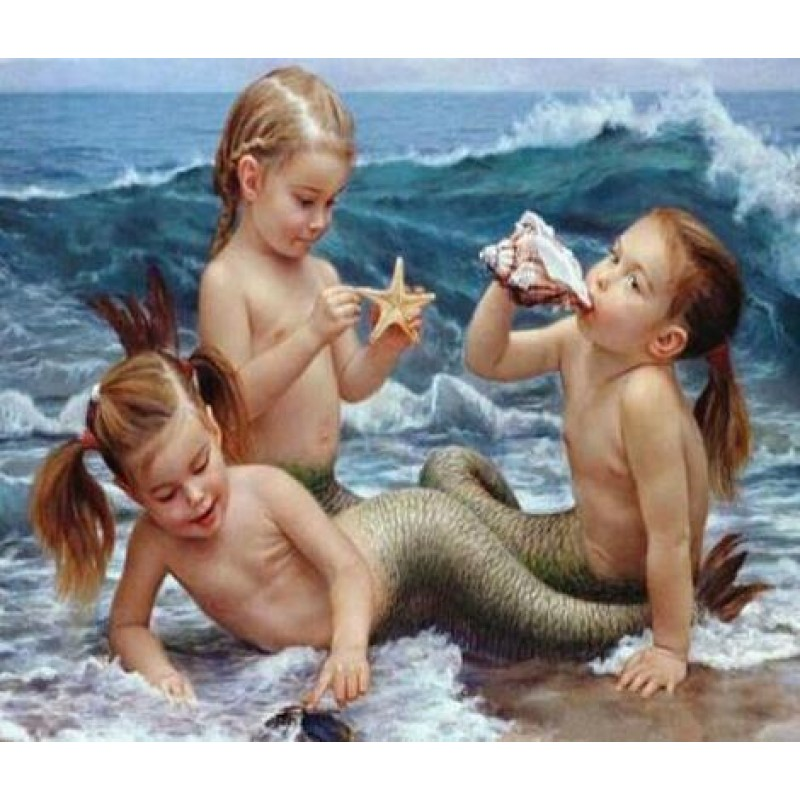 Mermaid Girls Diamon...