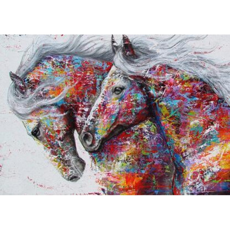Horses Full Colors D...