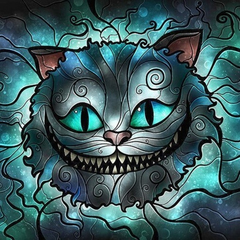 Cheshire Cat Alice i...