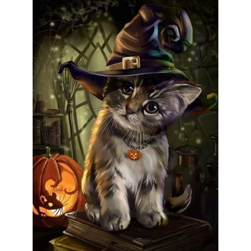 Cute Kitten Hallowee...