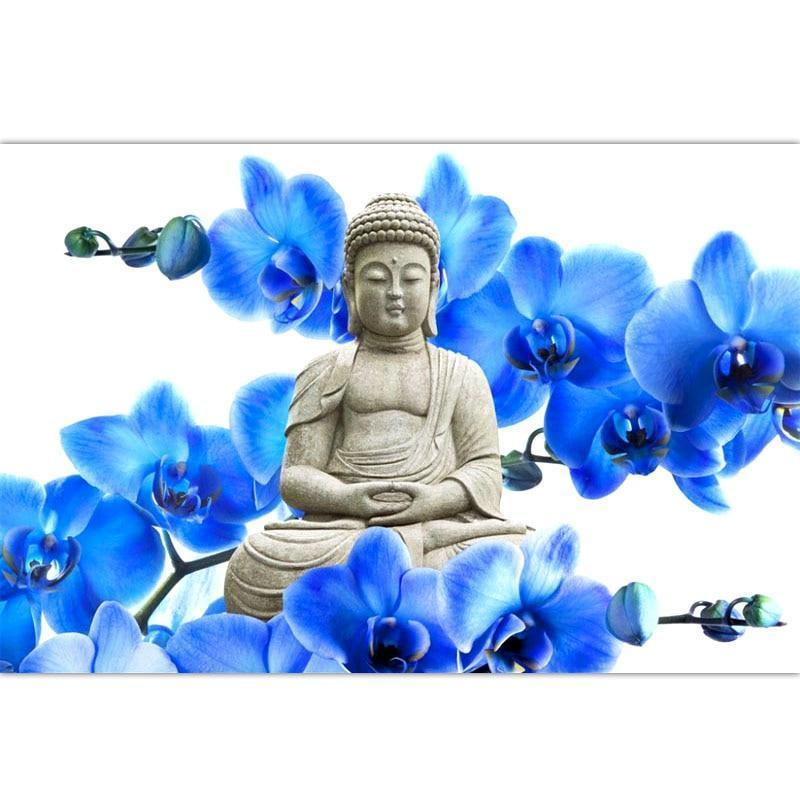 Flowers And Buddha D...