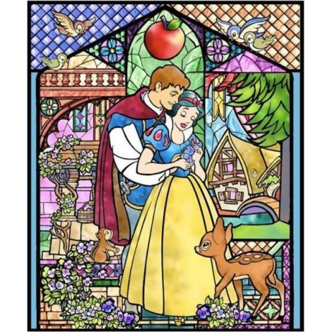 Snow White and the Seven Dwarves Diamond Painting Kit