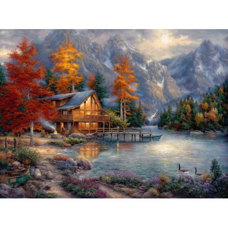 Space For Reflection Diamond Painting Kit