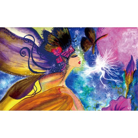 A Card Fairy Dust Diamond Painting Kit